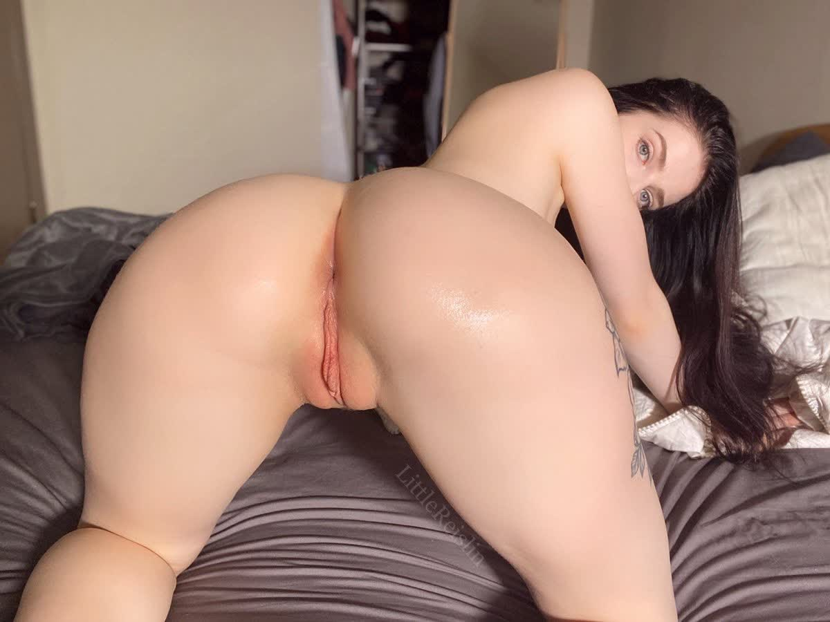 Pale skin slut Rebeca Linares getting her asshole drilled hard in the office by big black cock